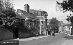 Lewes, Shelley's Hotel c.1950