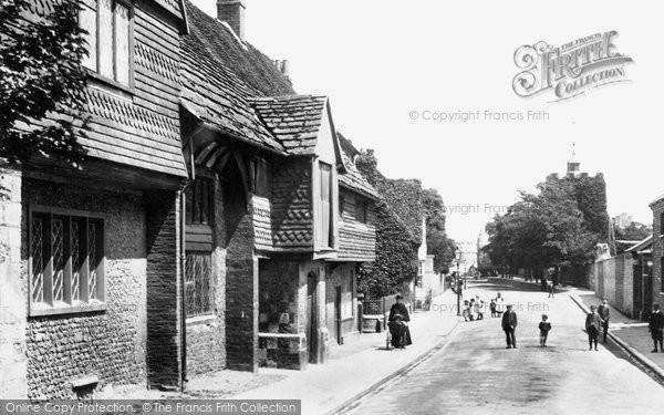 Photo of Lewes, Southover, Anne Of Cleves House 1898