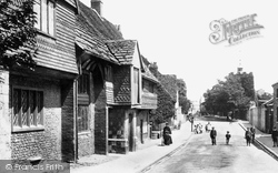 Southover, Anne Of Cleves House 1898, Lewes