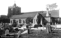 Southover Church 1890, Lewes