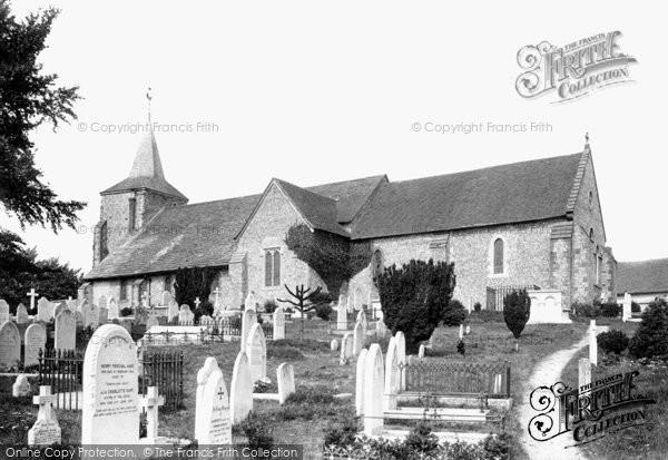 Photo of Lewes, St Anne's Church 1894