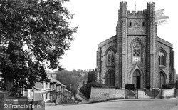 St John's Church And The Pond c.1950, Lewes