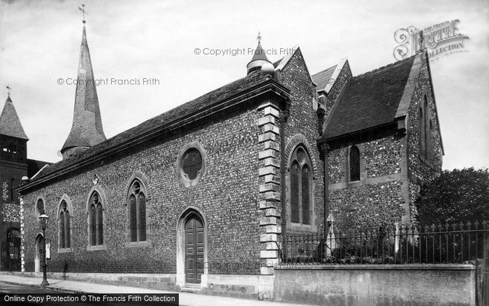 Photo of Lewes, St Michael's Church 1898