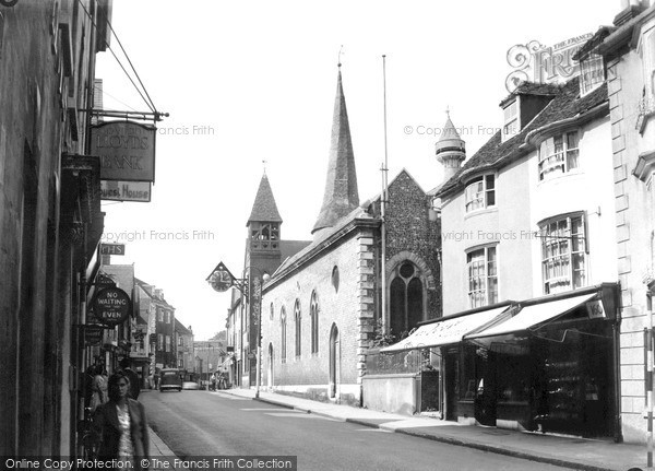 Photo of Lewes, St Michael's Church c.1950