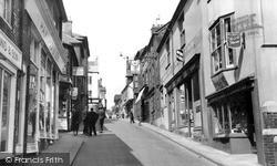 Lewes, Station Street c.1955