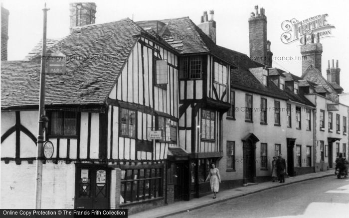 Photo of Lewes, The 15th Century House c.1955