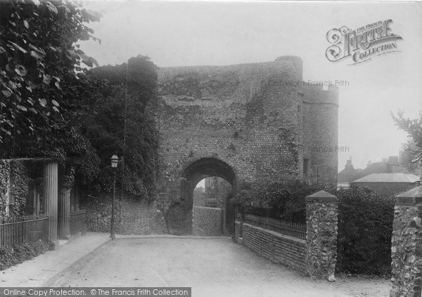 Photo of Lewes, The Castle 1894
