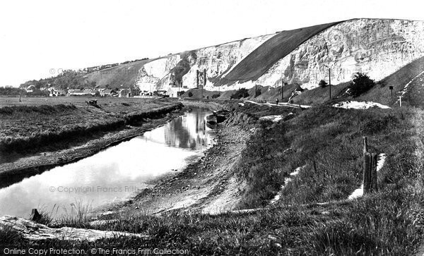 Photo of Lewes, The Cliffs 1921