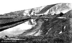 Lewes, The Cliffs 1921