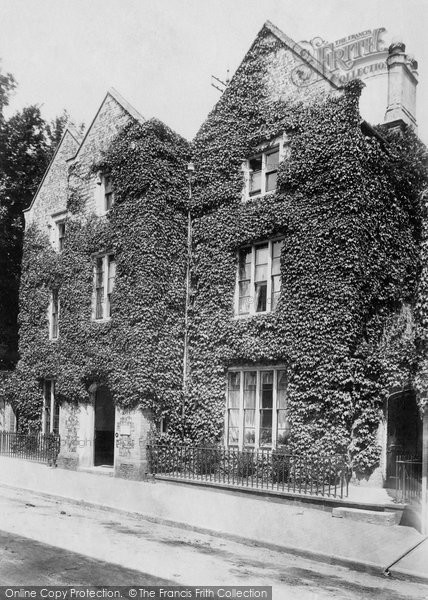 Photo of Lewes, The Old Grammar School 1898