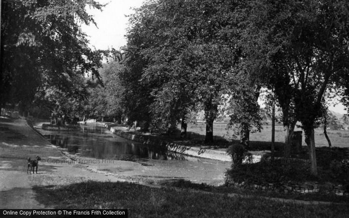 Photo of Lewes, The Pells c.1950