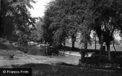 Lewes, The Pells c.1950