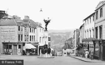 Lewes, the War Memorial c1950