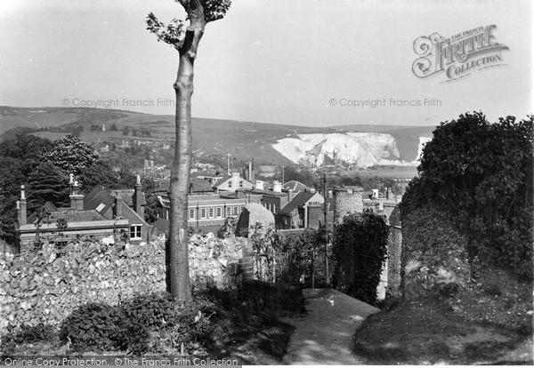 Photo of Lewes, View From The Castle c.1955