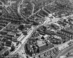 Lewisham, Aerial View c.1955