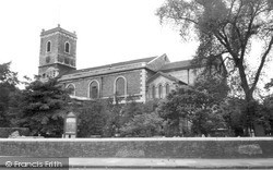 Lewisham, Church Of St Mary c.1960