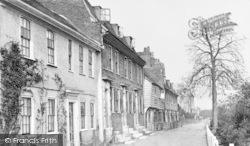 Lewisham, Exchequer Place c.1900
