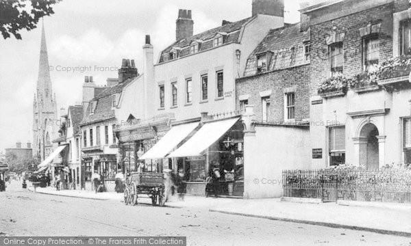 Photo of Lewisham, High Street c.1900