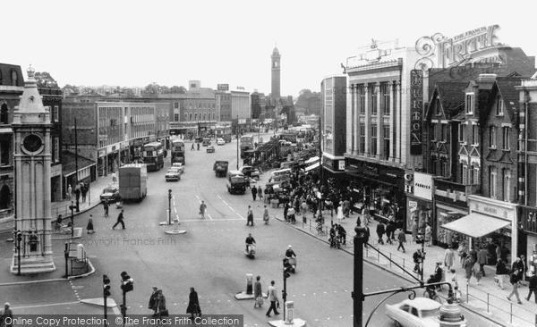 Photo of Lewisham, High Street c.1960
