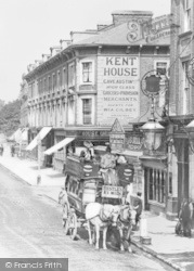 Lewisham, Horse Drawn Coach, Lee Green c.1900