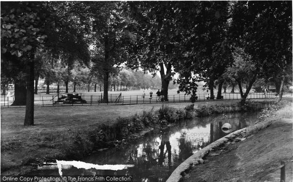 Photo of Lewisham, Ladywell Recreation Ground c.1960