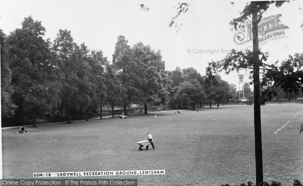 Photo of Lewisham, Ladywell Recreation Ground c.1960