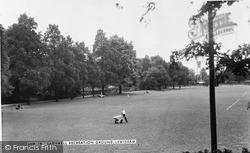 Lewisham, Ladywell Recreation Ground c.1960