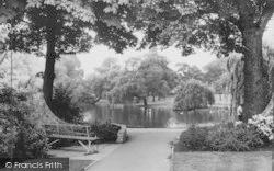 Lewisham, Manor House Gardens c.1960
