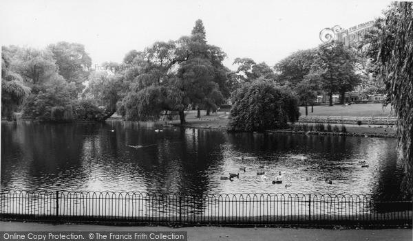 Photo of Lewisham, Manor House Gardens, Lee Green c.1960