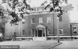 Lewisham, Manor House Library c.1960