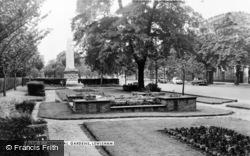 Lewisham, Memorial Gardens c.1960