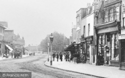 Lewisham, Old High Street c.1900