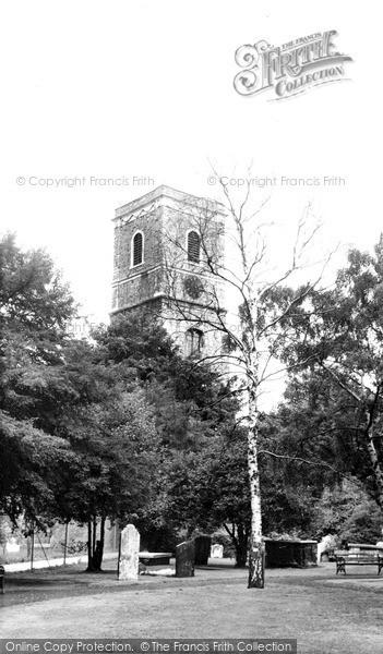 Photo of Lewisham, Parish Church Of St Mary c.1960