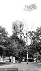 Lewisham, Parish Church Of St Mary c.1960