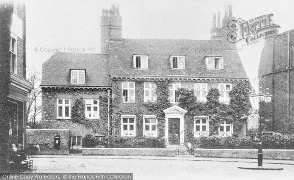 Photo of Lewisham, St Mary's Vicarage c.1900