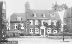 Lewisham, St Mary's Vicarage c.1900