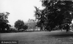The Library From The Gardens, Lee Green c.1960, Lewisham