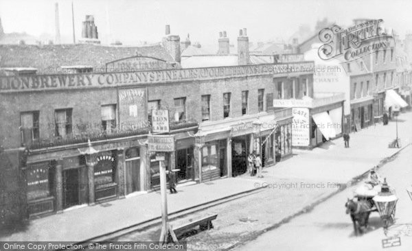 Photo of Lewisham, The Old Lion And Lamb, High Street c.1895
