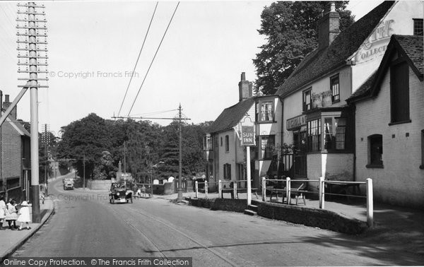 Photo of Lexden, Sun Inn 1921