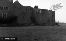 Leybourne, Castle 1954