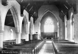 Leyburn, Church Interior 1896