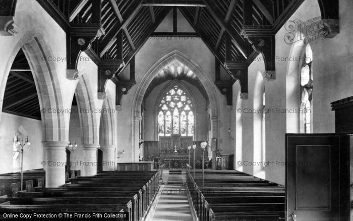 Photo of Leyburn, Church Interior 1911