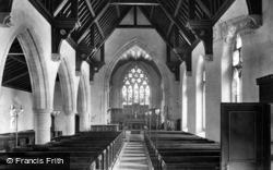 Leyburn, Church Interior 1911