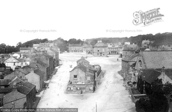 Photo of Leyburn, From Church Tower 1893