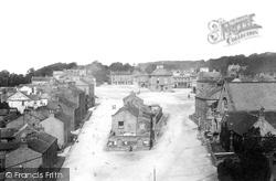 Leyburn, From Church Tower 1893