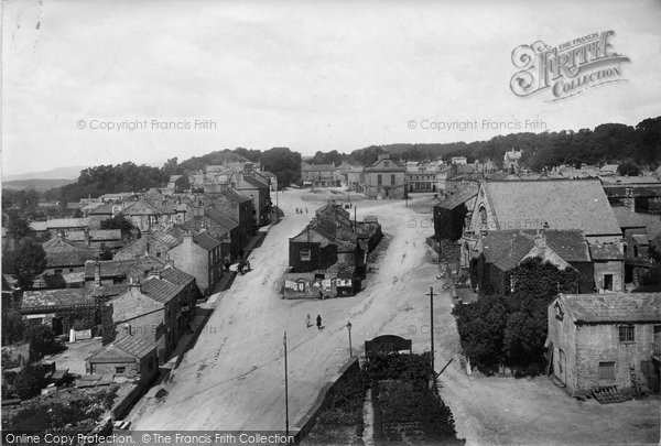 Photo of Leyburn, From Church Tower 1918