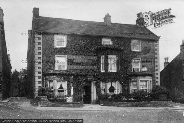 Photo of Leyburn, Golden Lion Hotel 1923