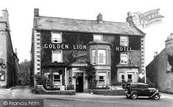Golden Lion Hotel 1934, Leyburn
