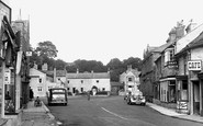 Leyburn, High Street c1954