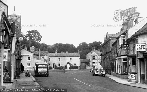 Photo of Leyburn, High Street c1954